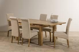 oak chairs dining room debenhams oak and painted u0027wadebridge u0027 extending table and 6
