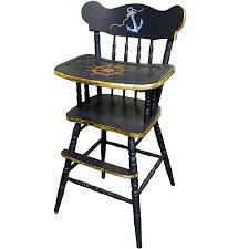 Baby Furniture Chair Nautical Highchair And Luxury Baby Cribs In Baby Furniture
