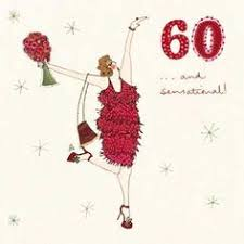 60 years birthday card 60th birthday card vintage style card by nigel quiney new by nigel