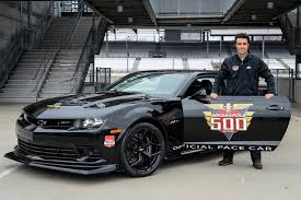 camaro z28 2014 black chevrolet camaro z 28 indy 500 pace car is ready to lead autotribute