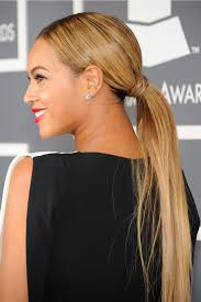 hairstyles ideas ponytail hairstyles with side bangs simple