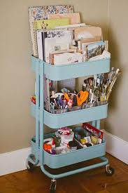 ikea raskog cart organization how to organize art supplies in a small space maybe get one of those