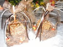 caramel apple party favors exles of caramel apple wedding favors