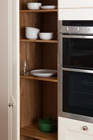 Kitchen Cabinet Price Comparison Tall Kitchen Larder Units U0026 Storage Cabinets Solid Wood Kitchen