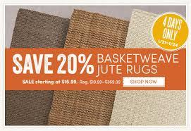 Basketweave Rug Basket Weave Jute Rug Roselawnlutheran