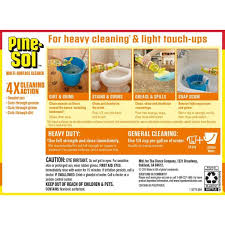 can i use pine sol to clean wood cabinets pine sol 60 oz lemon fresh all purpose multi surface