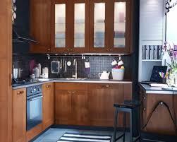 Ikea Kitchen Cabinets Solid Wood Kitchen Entrancing Small Ikea Kitchen Decoration Using Small