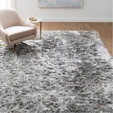 long shag rug glam shag rug west elm