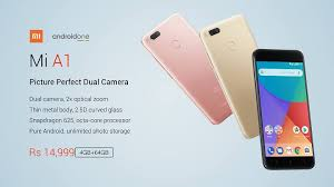 Xiaomi Mi A1 Xiaomi Mi A1 Android One Smartphone Now Official Yugatech
