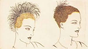 hair decoration 1930s hairstyle may day hair decoration 1936 glamourdaze