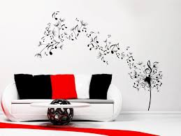 Kate Spade Wall Decor by Music Notes Wall Art Decals Takuice Com