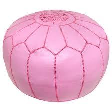 fabulous outdoor pouf ottoman pink ottomans poufs youll love