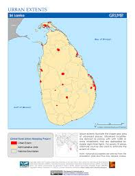 Map Of Sri Lanka Map Gallery Sedac