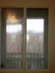 Exterior Kitchen Door With Window by Gila Glacier Window Film Up Close View Of Kitchen Door Leading To