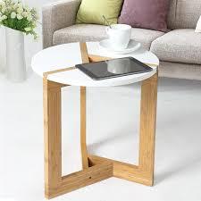 modern assembly bamboo side living room sofa tea home diy wooden