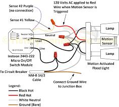 pir motion sensor wiring diagram and wire large stunning light