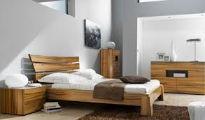Solid Wood Contemporary Bedroom Furniture by Semi Integrated Modern Beds Pinterest Modern Platform Bed