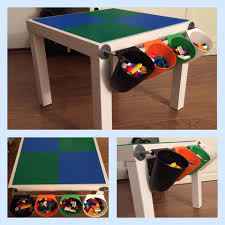 Ikea Lack Side Table by Fun With Ikea And Lego Of Course A Easy To Diy Lego Table That U0027s