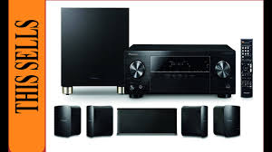 good home theater speakers good one pioneer 5 1 home theater system htp 074 youtube