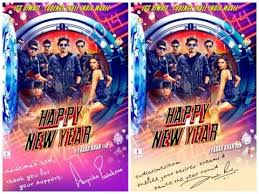happy new years posters happy new year poster releasing diwali 2014