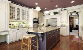 White Kitchen Dark Island Eat At Kitchen Islands White Kitchen Cabinets With Dark Island