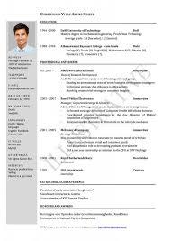 how to write a cv or resume beauteous cv resume sle vita template best 25 curriculum vitae