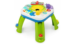table toys play table bright starts get rollin activity table toys character george