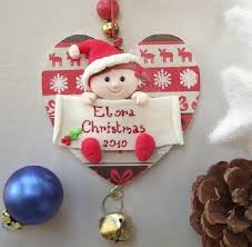 amazing baby u0027s first christmas ornaments baby nursery irosi