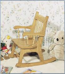 Unfinished Child S Rocking Chair U Do Kit U2013 Pre Cut Woodworking Projects