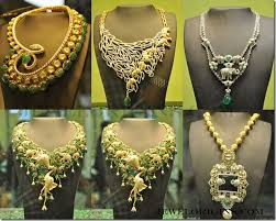 designer diamond sets designer diamond and jades necklace sets jewelorigins indian