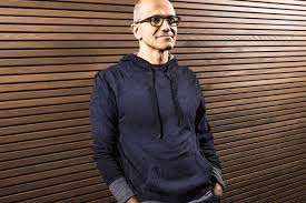 new microsoft ceo satya nadella plus hipster hoodie to open code