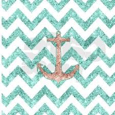 Navy And Coral Shower Curtain Coral Glitter Nautical Anchor Teal Shower Curtain On Cafepress