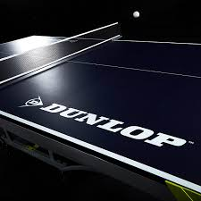 2 piece ping pong table amazon com dunlop ttt218 117d official table tennis table blue