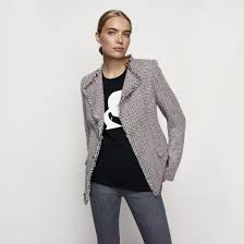 Clothes For Tall Girls Karl Lagerfeld X Long Tall Sally Collaboration Brit Co