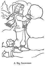 frosty snowman coloring pages book images preschool