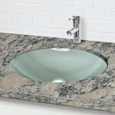 undermount glass sinks home design