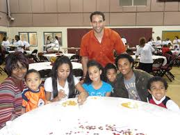 thanksgiving families children with a vision inc ryan nece thanksgiving dinner to the