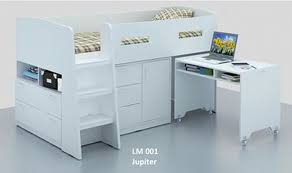 Midi Bed With Desk Midi Sleeper Bunk Beds U2013 Bunk Beds Design Home Gallery