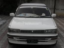 Toyota Corolla 1989 Toyota Corolla Lx Limited 1 3 1989 For Sale In Islamabad Pakwheels