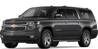 2018 suburban large suv 3 row suv chevrolet