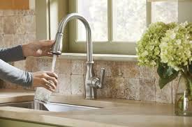 brantford kitchen faucet standard plumbing supply product moen 7185srs brantford one