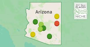 Map Of Arizona Cities by 2017 Best Places To Live In Arizona Niche