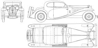 bugatti drawing bugatti type 50 1932 blueprint download free blueprint for 3d