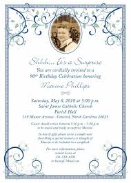 template free printable 90th birthday invitation images with