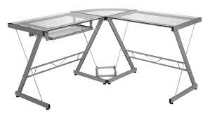 L Shaped White Computer Desk by Zipcode Design Leanne L Shape Computer Desk U0026 Reviews Wayfair
