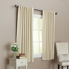 solid thermal insulated back tap blackout curtain 52