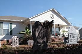 house of horrors county man creates elaborate halloween display