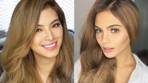 hair color for pinays the most flattering blonde shades for pinays fn
