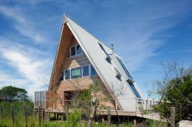 pictures of a frame houses a frame rethink in fire island new york usa