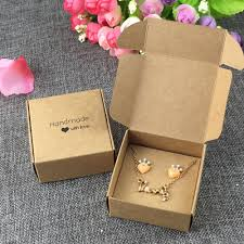 jewelry box 50 aliexpress buy 50sets 6 5x6 5x3cm kraft new jewelry boxes